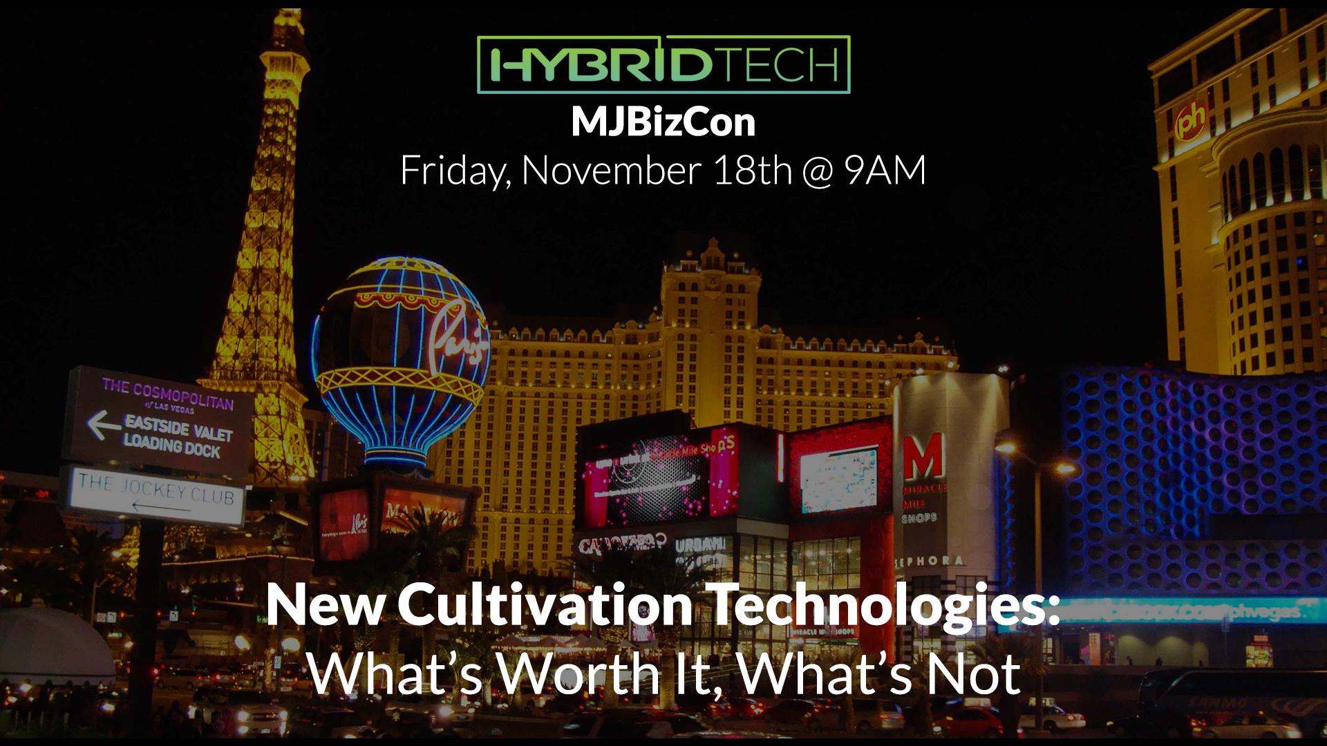 CEO Dan Gustafik to speak at MJBizCon Friday Nov 18