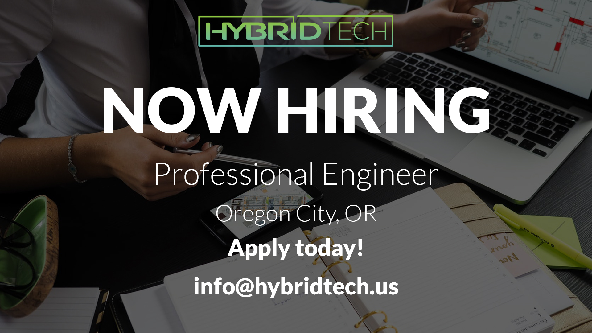 Now Hiring: Licensed Professional Engineer