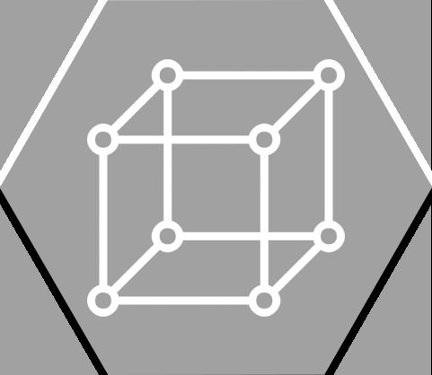 Hex 3D Model Grey